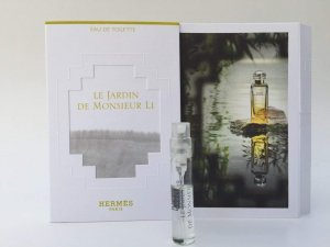 Le Jardin de Monsieur Li (ル ジャーデン デ ムシュー リー) 2ml Sample サンプル Spray by Hermes