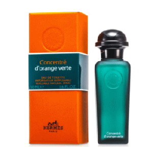 【Hermes 】Eau d'orange verte Concentr (オ- ド オレンジ バート コンセントレ) 1.6 oz (50ml) EDT Spray for him