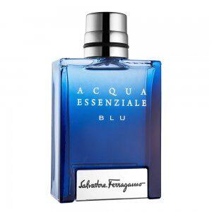 Acqua Essenziale Blu (アクア エッセンツィエール ブルー) 3.4 oz (100ml) EDT Spray by Salvatore Ferragamo for Men