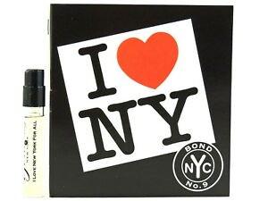 I Love New York All (アイラブニューヨークフォーオール) 1.7 ml EDP Sample (メーカーオリジナルサンプル)by Bond No.9 (ボンドナンバーナイン) …