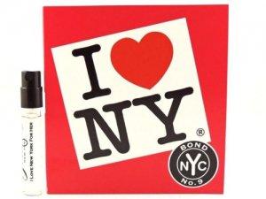 I Love New York for Her(アイラブニューヨークフォーハー) 1.7 ml EDP Sample (メーカーオリジナルサンプル)by Bond No.9