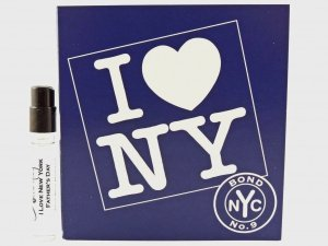 I Love New York for Father's Day(アイラブニューヨーク フォー ファザーズデー) 1.7 ml EDP Sample (メーカーサンプル)by Bond No.9