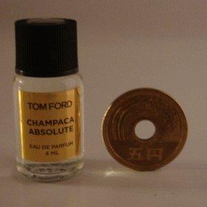 Tom Ford Private Blend 'Champaca Absolute' (トムフォード プライベートブレンド シャンパカアブソルート) 4ml EDP ミニボトル (手詰めサンプル)