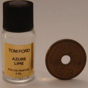 "Tom Ford Private Blend ""Azure Lime"" (トムフォード プライベートブレンド アズレーライム) 4ml EDP ミニボトル (手詰めサンプル)"