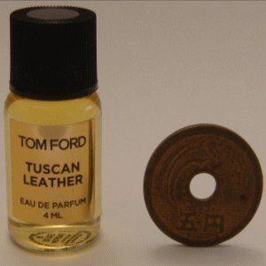 Tom Ford Private Blend 'Tuscan Leather' (トムフォード プライベートブレンド トスカン レザー) 4ml EDP ミニボトル (手詰めサンプル)