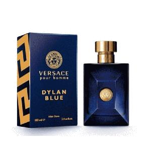 Versace  Pour Homme  Dylan Blue (ヴェルサーチ  プア オム ディラン・ブルー)3.4oz Aftershave Splash