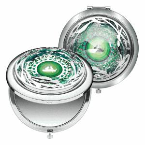 """コンパクトミラーDisney Ariel Collection """"The Palace Jewel Compact Mirror"""" (ディズニー アリエル コンパクト ミラー)"""