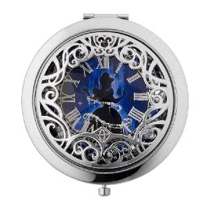 "Disney Cinrella Collection ""The Palace Jewel Compact Mirror"" (ディズニー シンデレラ コンパクト ミラー)"
