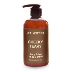 Kaori Cafe オリジナル Get Woody CHEEKY TEAKY Body Lotion