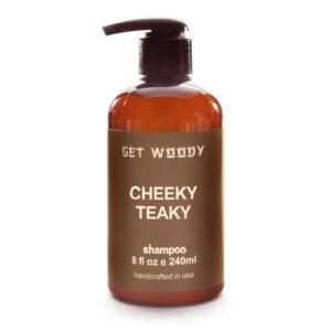 Kaori Cafe オリジナル Get Woody CHEEKY TEAKY Shampoo