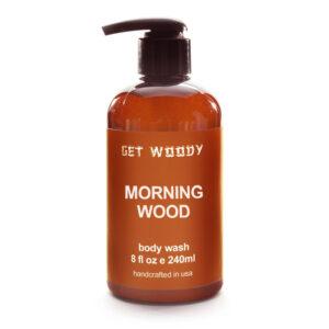 Kaori Cafe オリジナル Get Woody Morning WoodBody Wash