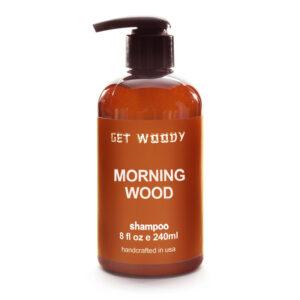 Kaori Cafe オリジナル Get Woody Morning Wood Shampoo